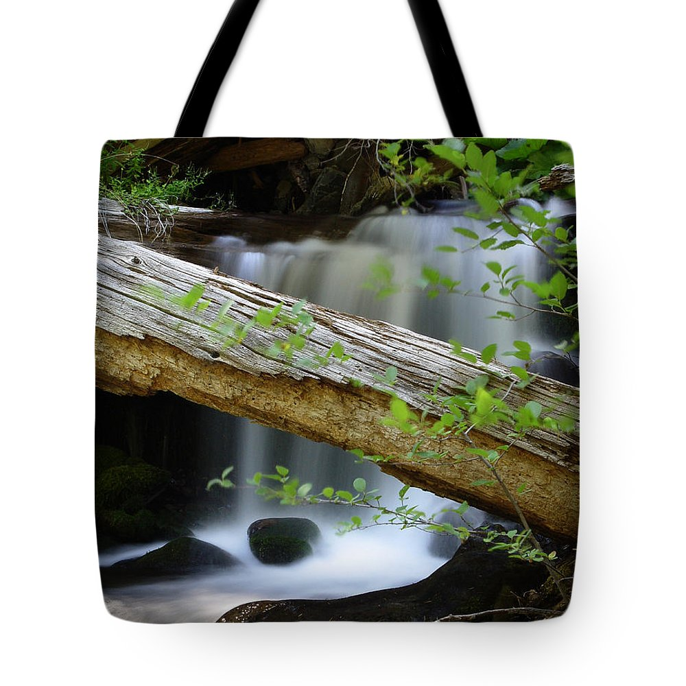 Creek Tote Bag featuring the photograph Deer Creek 13 by Peter Piatt