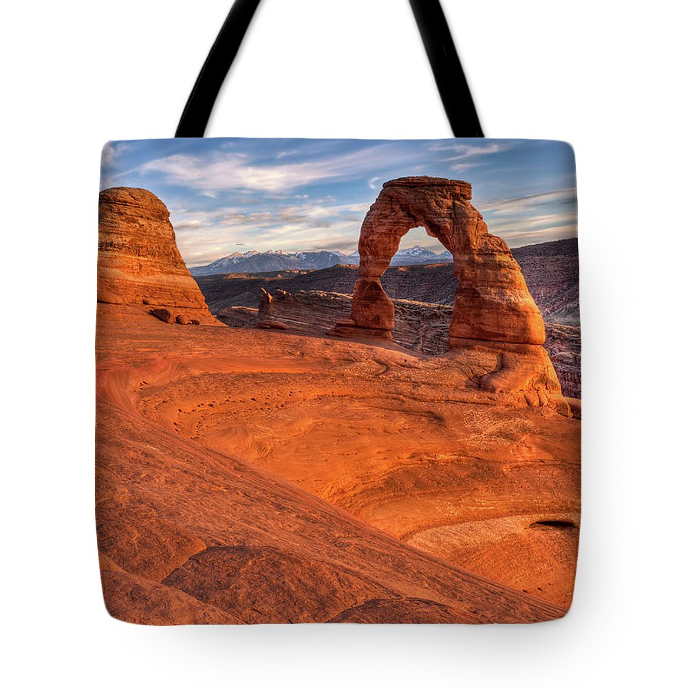 Tote Bag featuring the photograph Delicate Arch 10 by Paul Basile