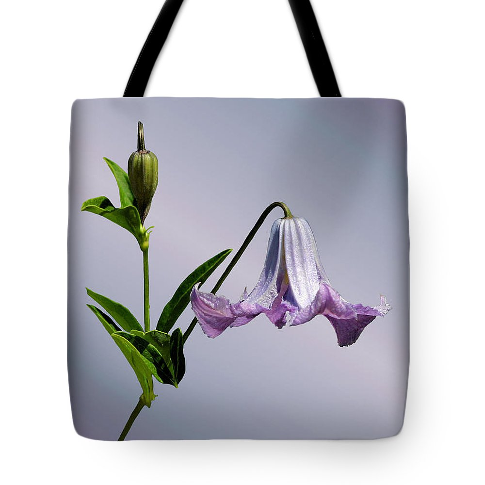 Flower Tote Bag featuring the photograph Delicate Bell by Kristin Elmquist