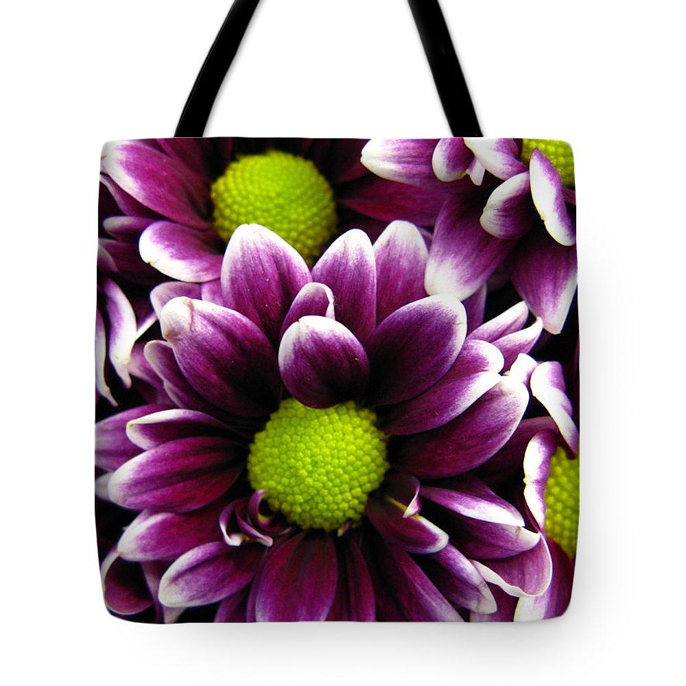 Purple Tote Bag featuring the photograph Delicate Purple by Rhonda Barrett