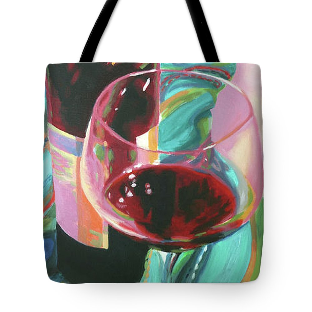 Still Life Tote Bag featuring the painting Delight by Trina Teele