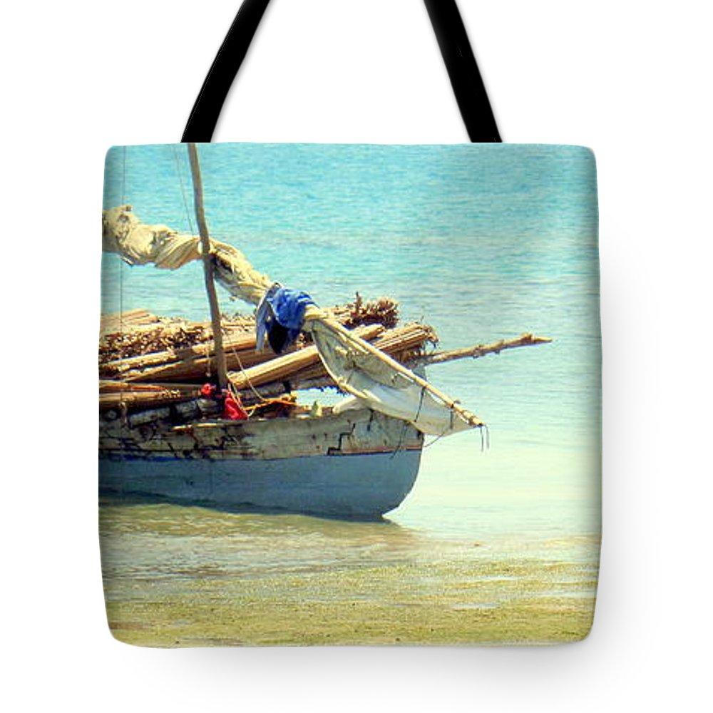 Delivery Tote Bag featuring the photograph Delivery Day by John Potts