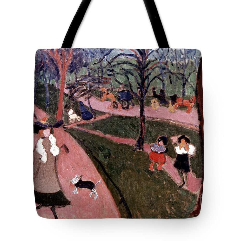 20th Century Tote Bag featuring the photograph Derain: Hyde Park by Granger