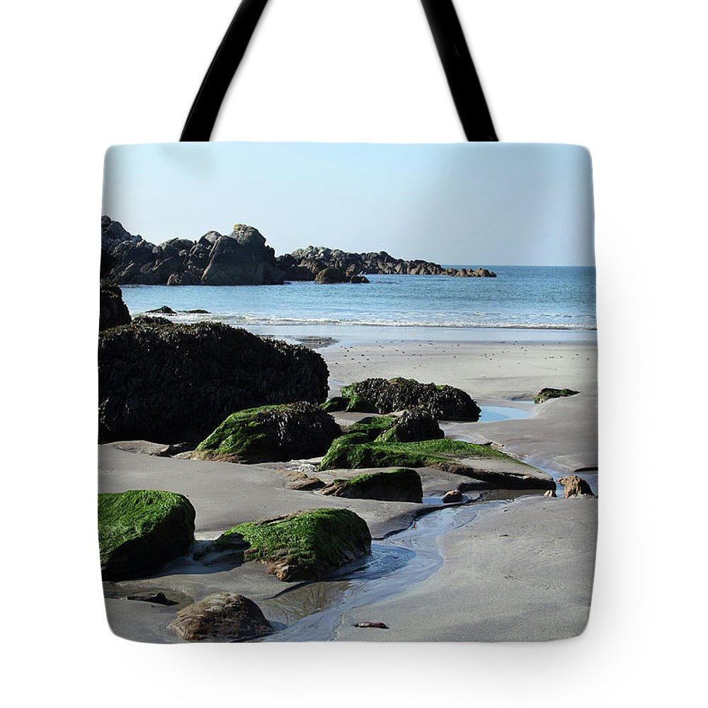 Ireland Tote Bag featuring the photograph Derrynane Beach by Marie Leslie