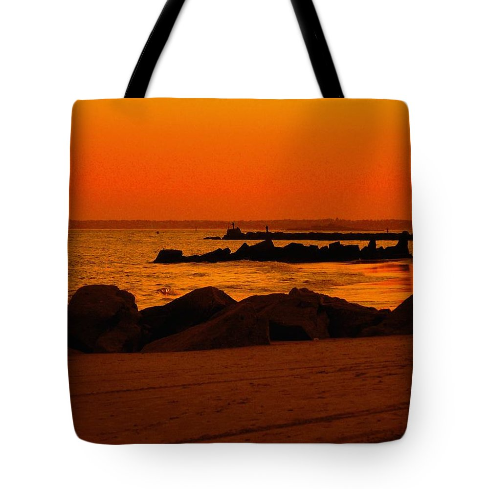 Landscape Tote Bag featuring the photograph Desert Skies by Kendall Eutemey