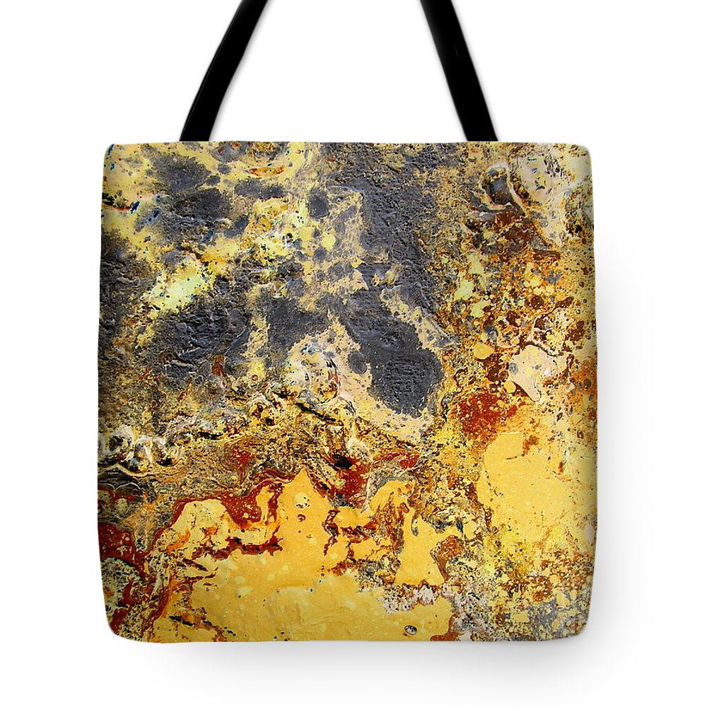 Desert Tote Bag featuring the painting Deserts Of Hope by Dawn Hough Sebaugh
