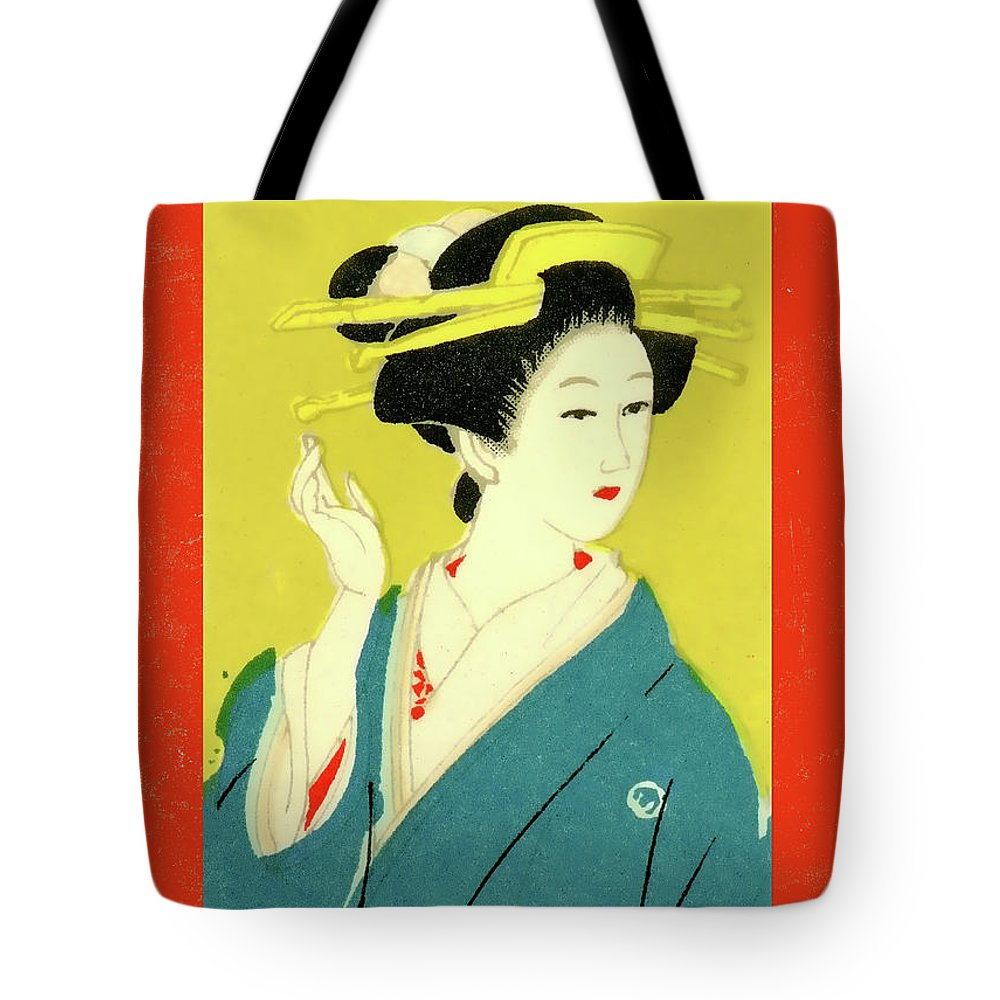 Carol Leigh - Designer Series Japanese Geisha Matchbox Labels - Wall Art