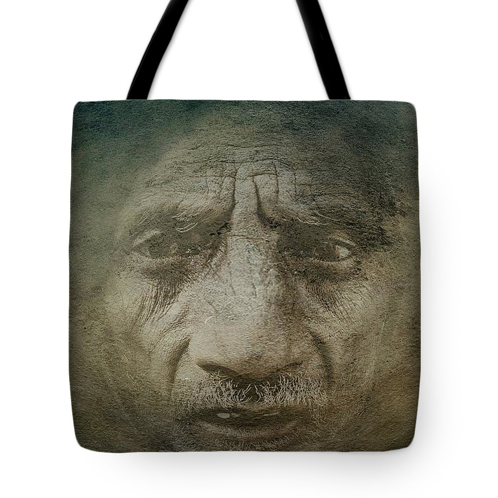 Despair Tote Bag featuring the photograph Despair by Movie Poster Prints