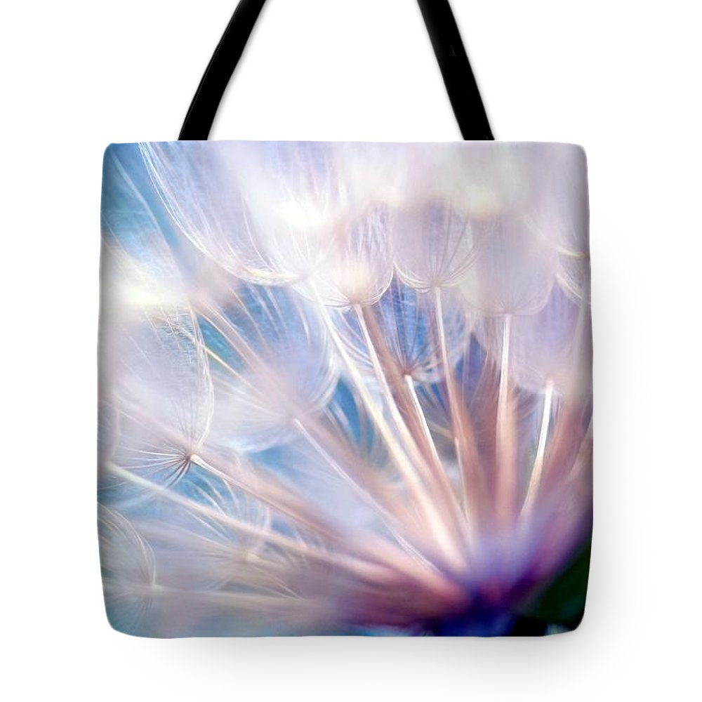 Wispy Tote Bag featuring the photograph Destiny by Mitch Cat