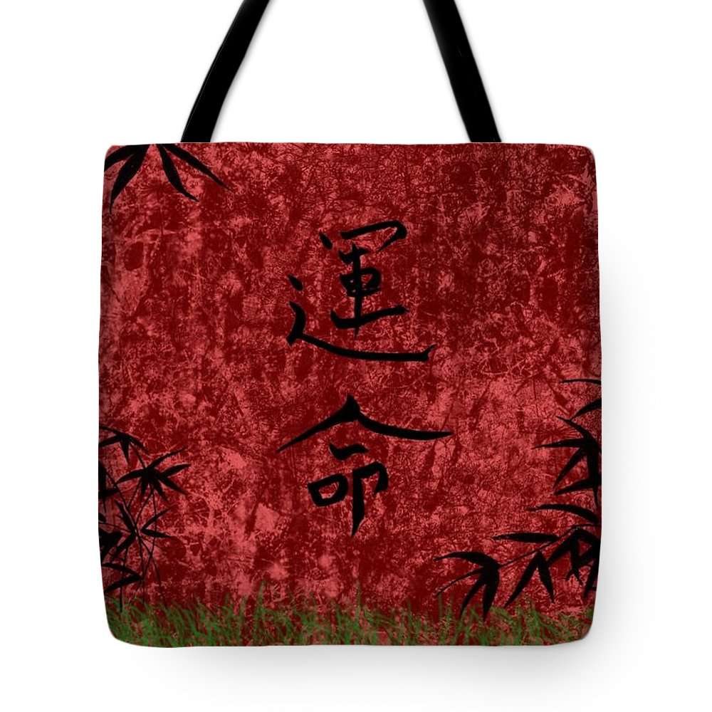 Destiny Tote Bag featuring the digital art Destiny by Rhonda Barrett