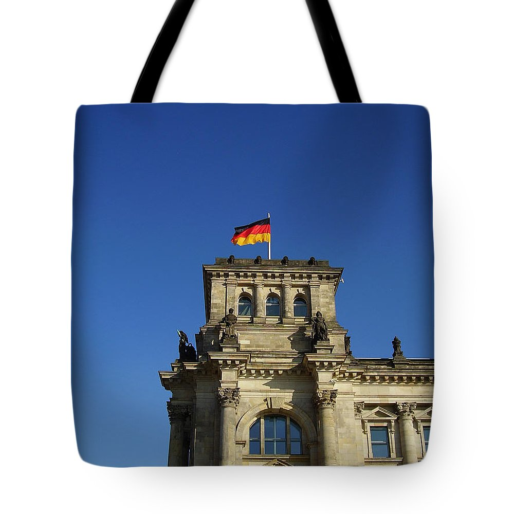 Deutscher Bundestag Tote Bag featuring the photograph Deutscher Bundestag II by Flavia Westerwelle
