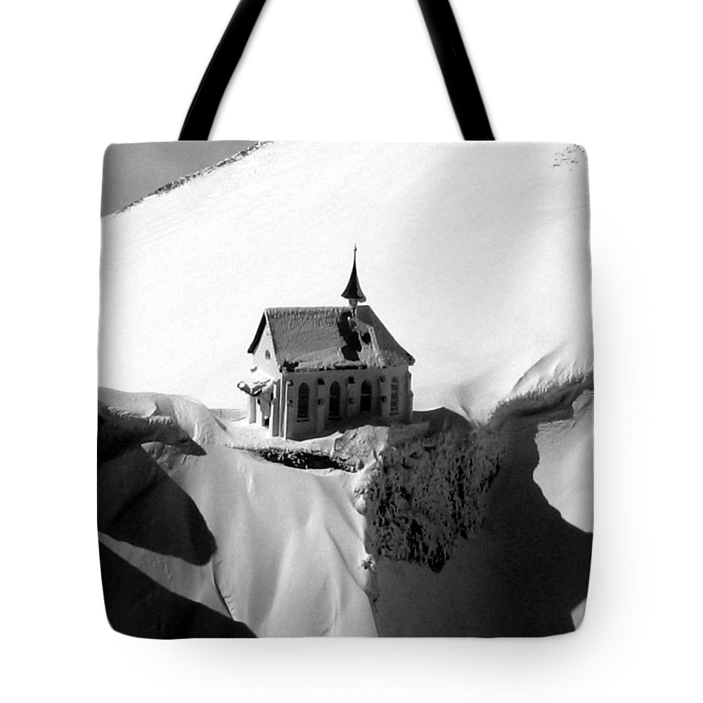 Landscape Tote Bag featuring the photograph Devotion by Dylan Punke