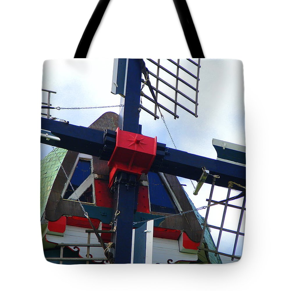 Dezwaan Tote Bag featuring the photograph DeZwaan Windmill Holland Michigan by Michelle Calkins