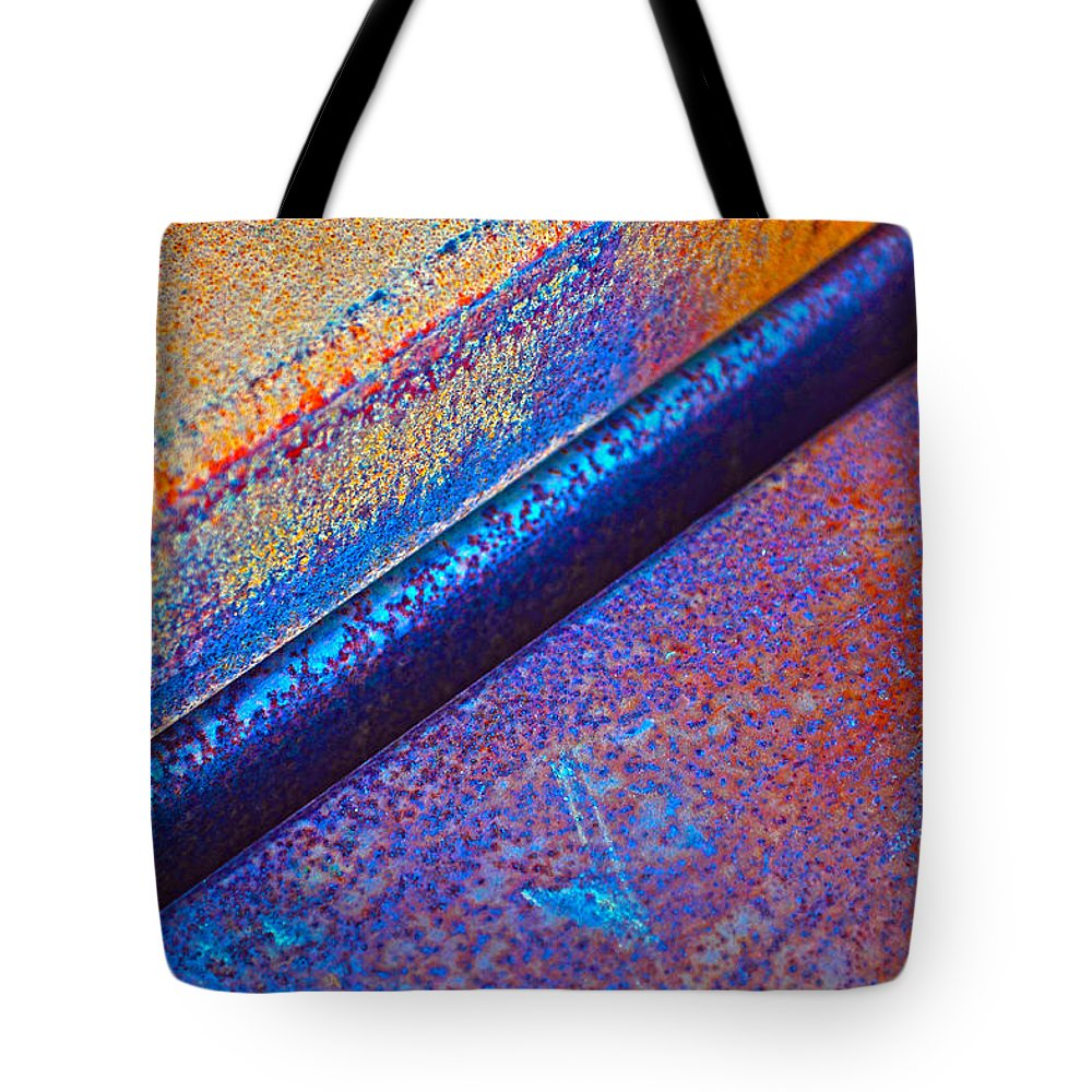 Diagonal. Abstract Tote Bag featuring the photograph Diagonal by Randi Grace Nilsberg