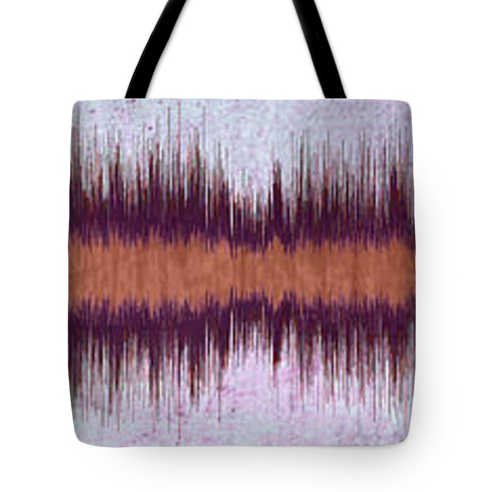 Diamond Dogs Tote Bag featuring the digital art 11041 Diamond Dogs By David Bowie by Colin Hunt