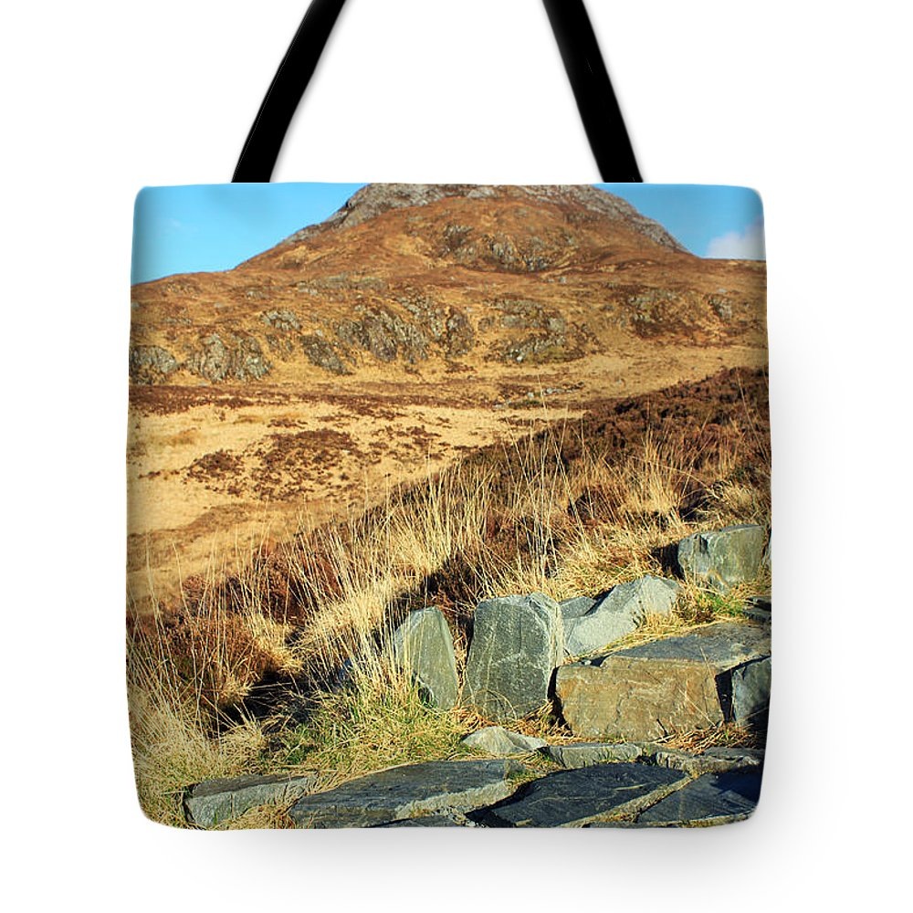 Landscapes Tote Bag featuring the photograph Diamond Hill by Jennifer Robin