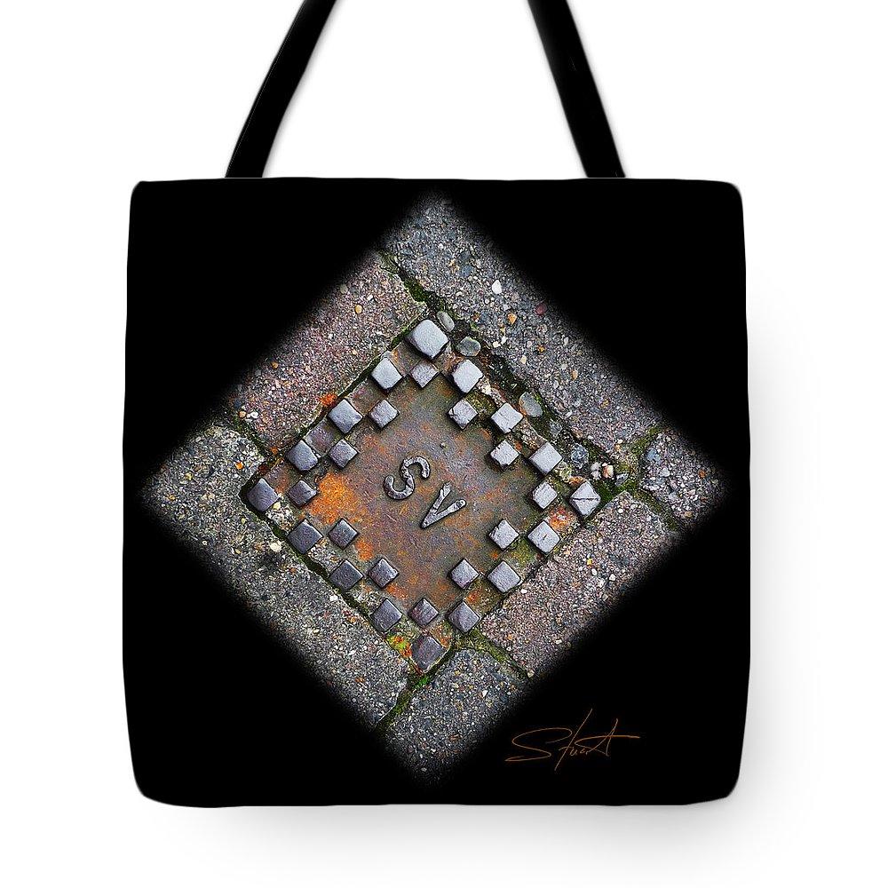 Diamond Tote Bag featuring the photograph Diamond Sv by Charles Stuart