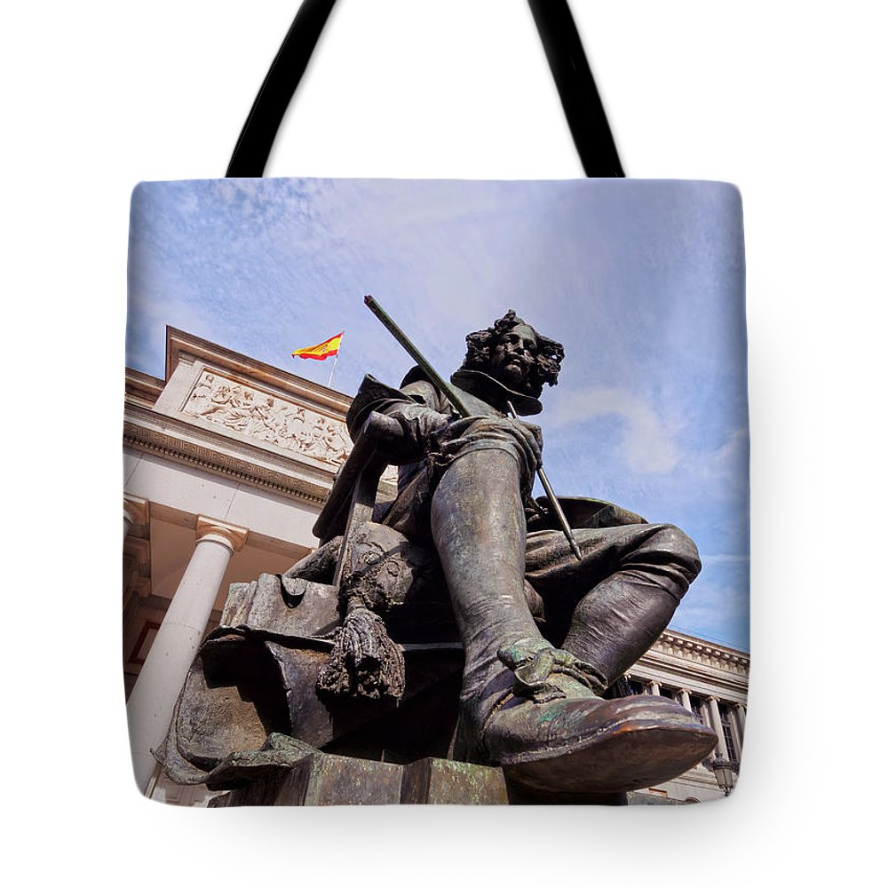 Spain Tote Bag featuring the photograph Diego Velazquez by Karol Kozlowski