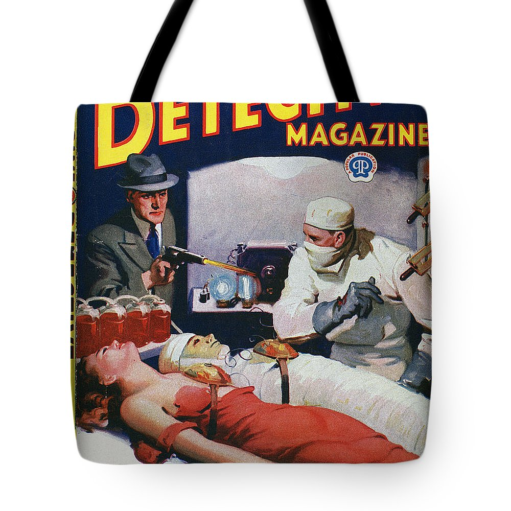 1933 Tote Bag featuring the photograph Dime Novel 1933 by Granger