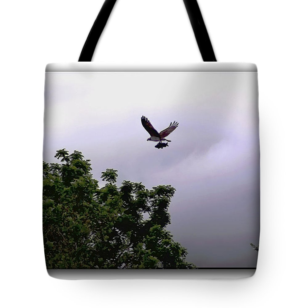 2d Tote Bag featuring the photograph Dinner by Brian Wallace