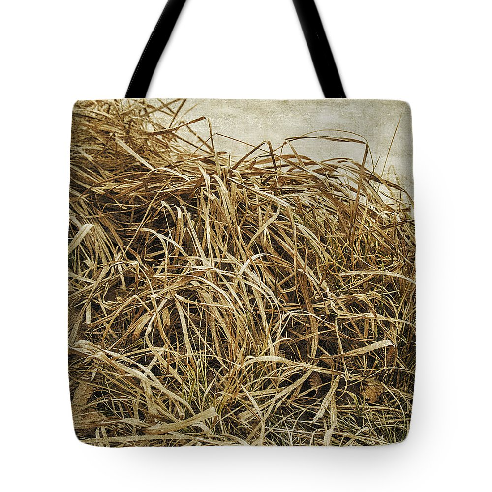 Desaturated Tote Bag featuring the digital art Dirge For November by Will Jacoby Artwork