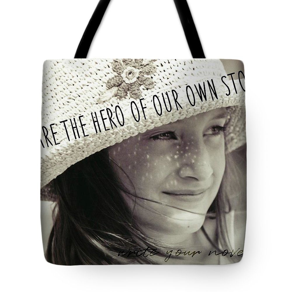 Child Tote Bag featuring the photograph Discover Yourself Quote by JAMART Photography