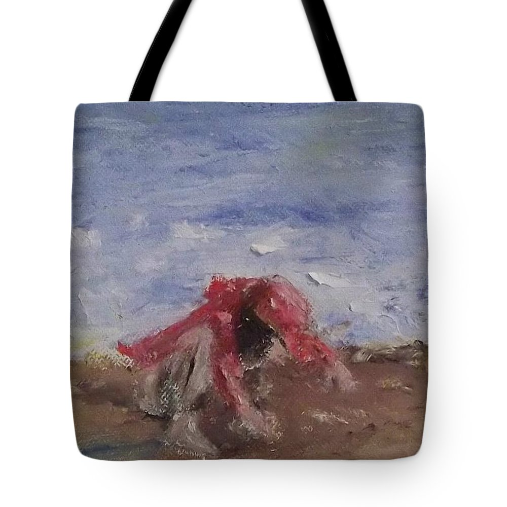 Child Tote Bag featuring the painting Discovery by Stephen King