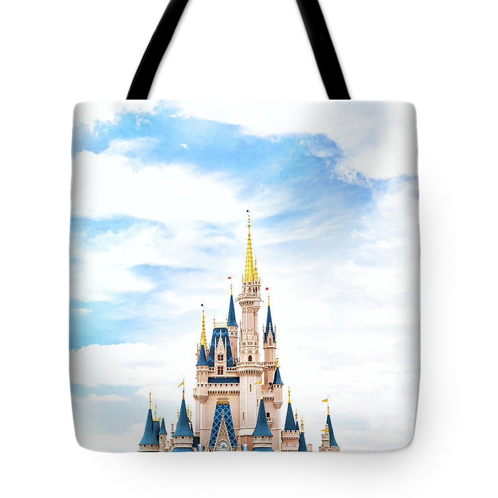 Disneyland Tote Bag featuring the photograph Disneyland by Happy Home Artistry