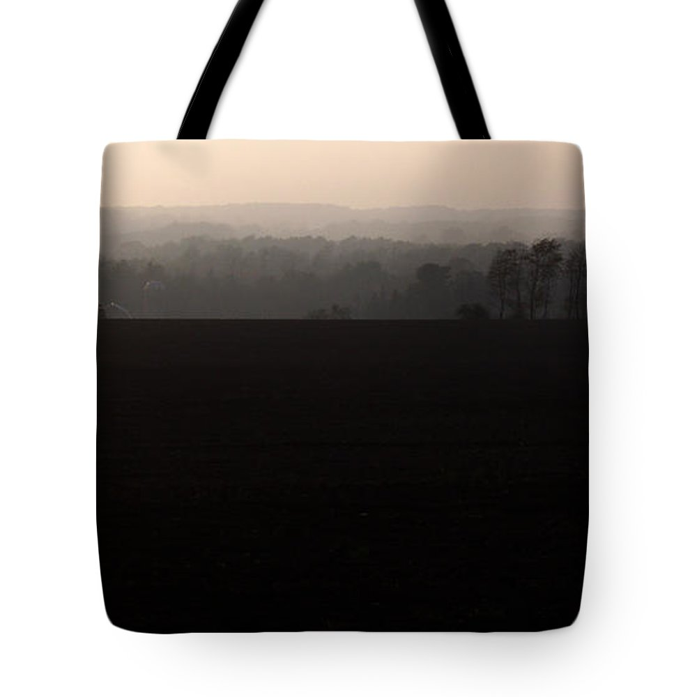 Hills Tote Bag featuring the photograph Distant Hills by Tim Nyberg