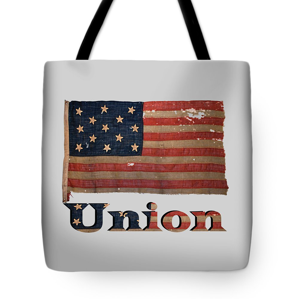 Distressed Union Army Civil War Flag Tote Bag For Sale By Reggie Hart