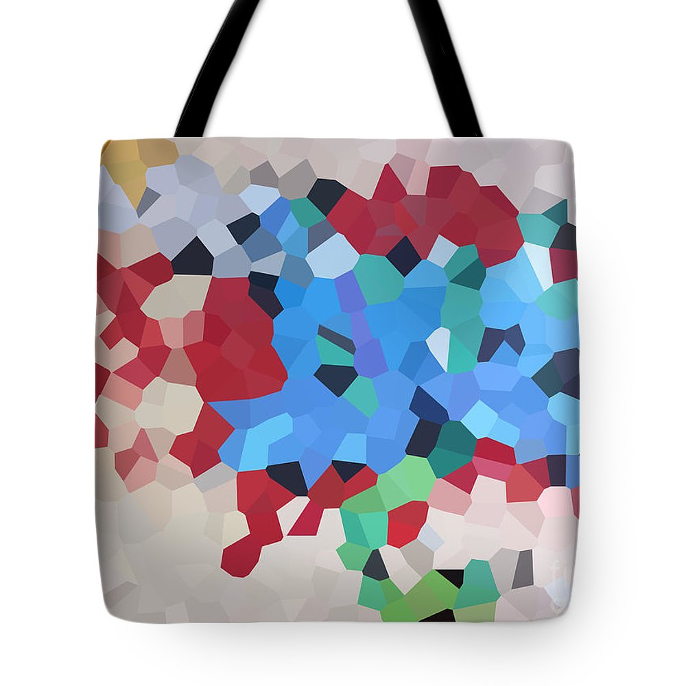 Abstract Tote Bag featuring the photograph DLS by Matthew Cassar