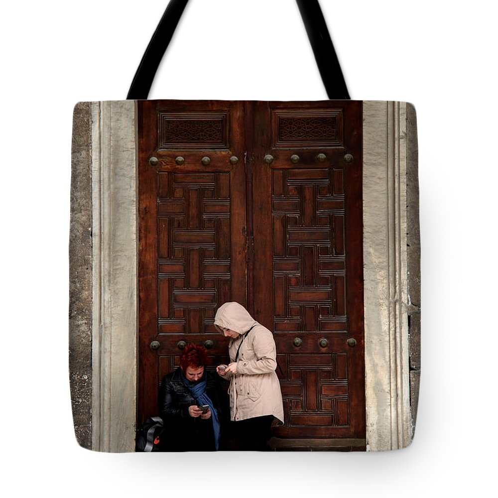 Istanbul Tote Bag featuring the photograph Do We Know Anything Yet Or Ever by Jez C Self