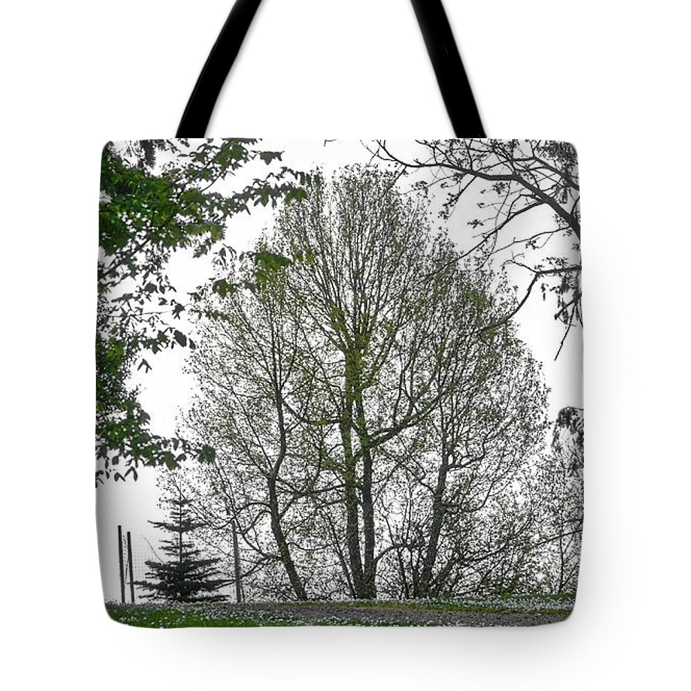 Legs Tote Bag featuring the photograph Do You See The Walking Tree by David Coleman