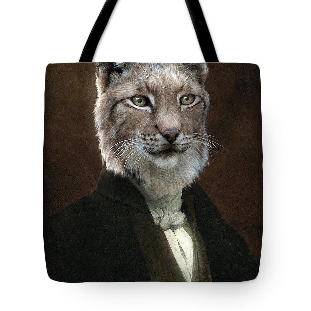 Portrait Tote Bag featuring the painting Doctor Cronus by Matt Van Gorkom