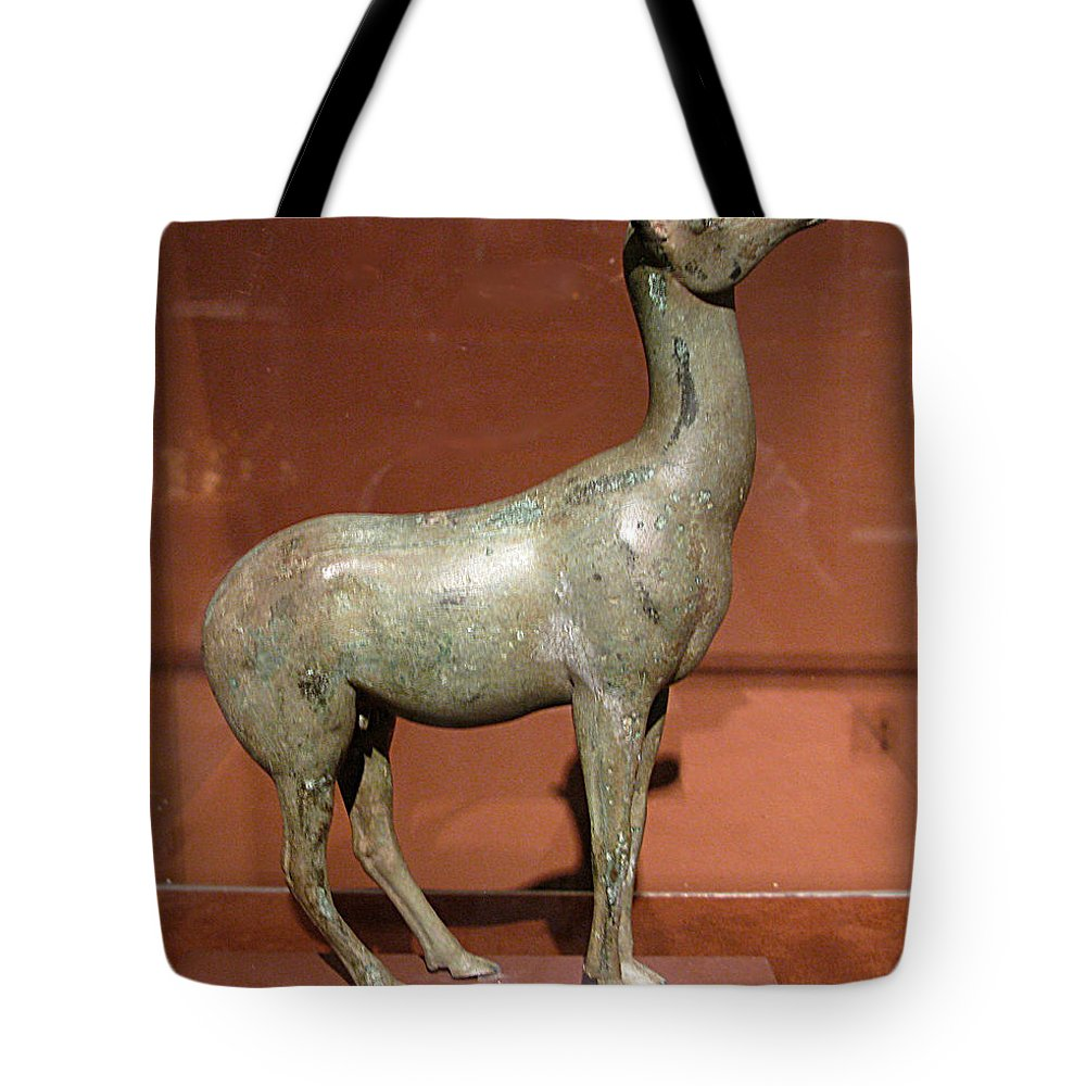 Doe Tote Bag featuring the photograph Doe by Andonis Katanos