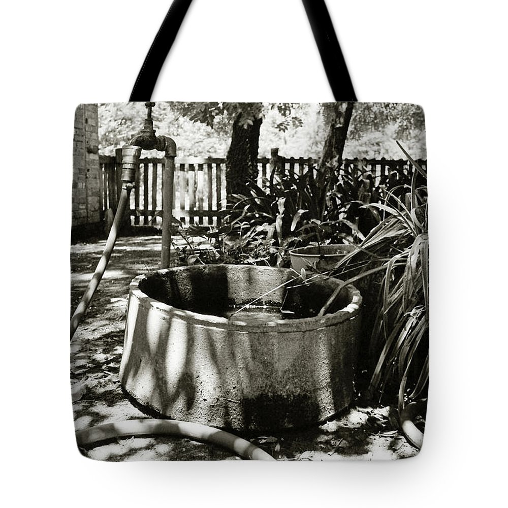 Summer Tote Bag featuring the photograph Dog Days by Robert Lacy