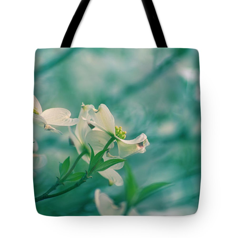Spring Tote Bag featuring the photograph Dogwoods by Rima Biswas