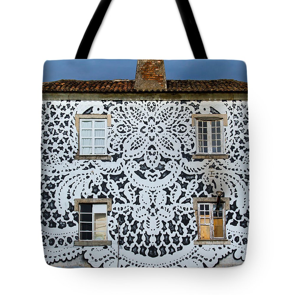 Doily House Tote Bag featuring the photograph Doily House by Edgar Laureano
