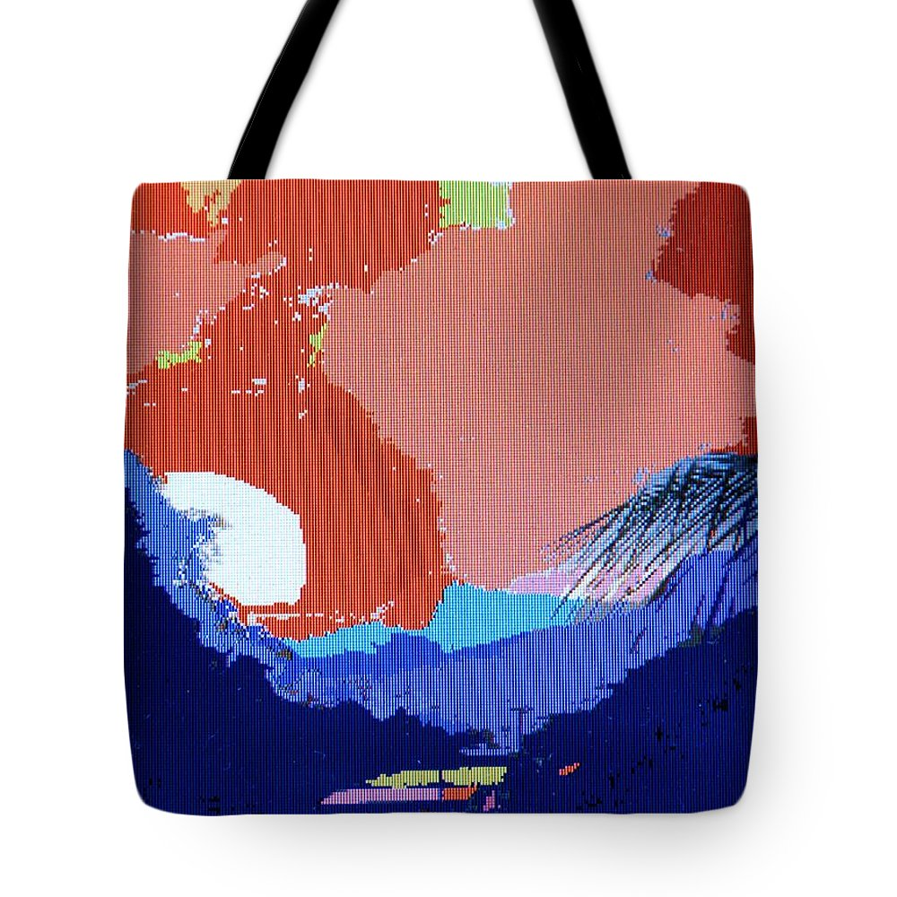 Digital Art Tote Bag featuring the photograph Dominican Sunset by Ian MacDonald