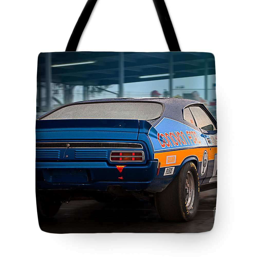 Ford Tote Bag featuring the photograph Donovan Ford by Stuart Row
