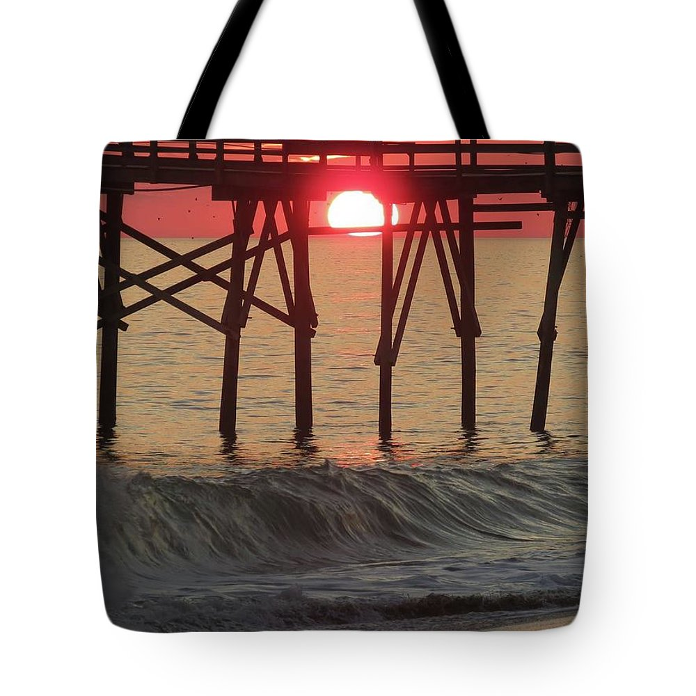 Tote Bag featuring the photograph Don't Let The Sun Go Down On Me by Becky Haines