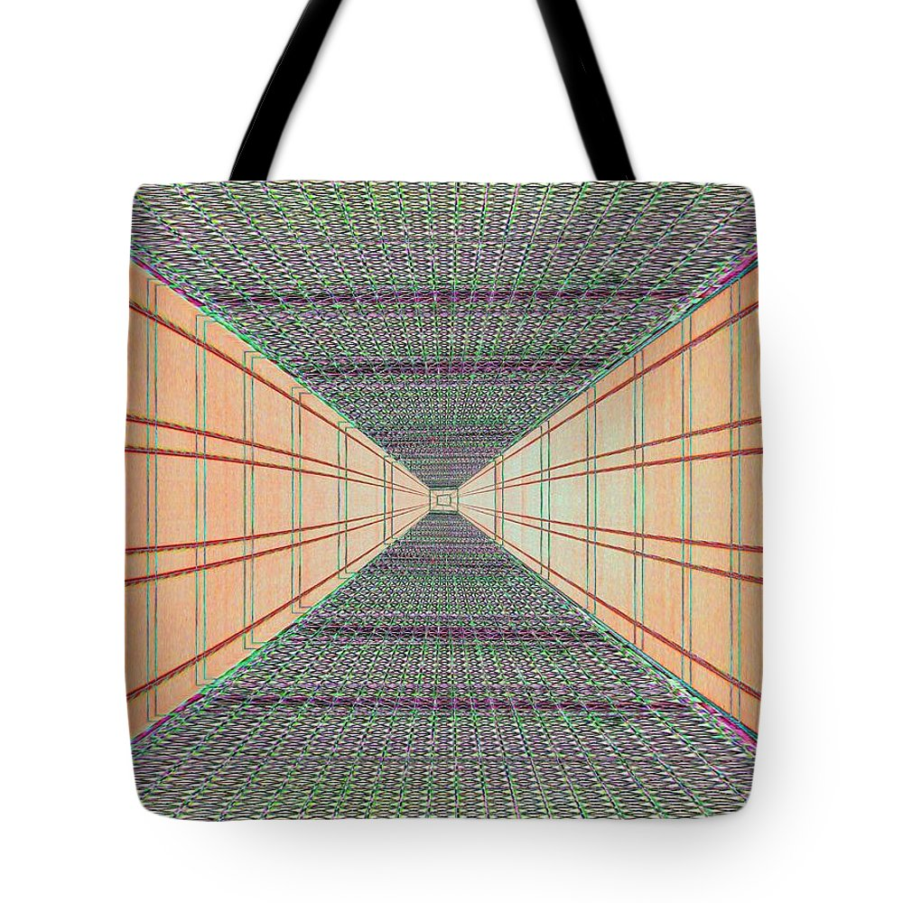 Achitecture Tote Bag featuring the photograph Dont Look Down by Tim Allen