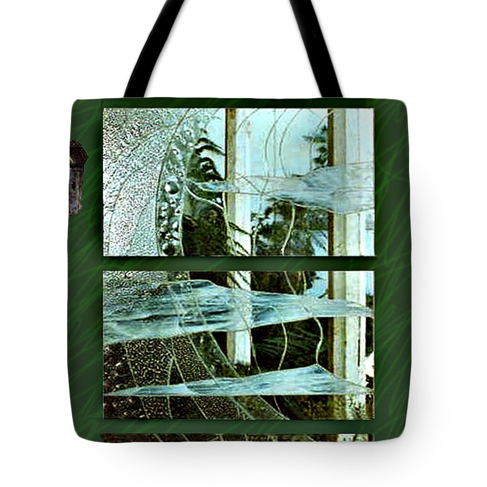 Photography Glass Landscape Tote Bag featuring the photograph 'door To The Universe' by Sarah King
