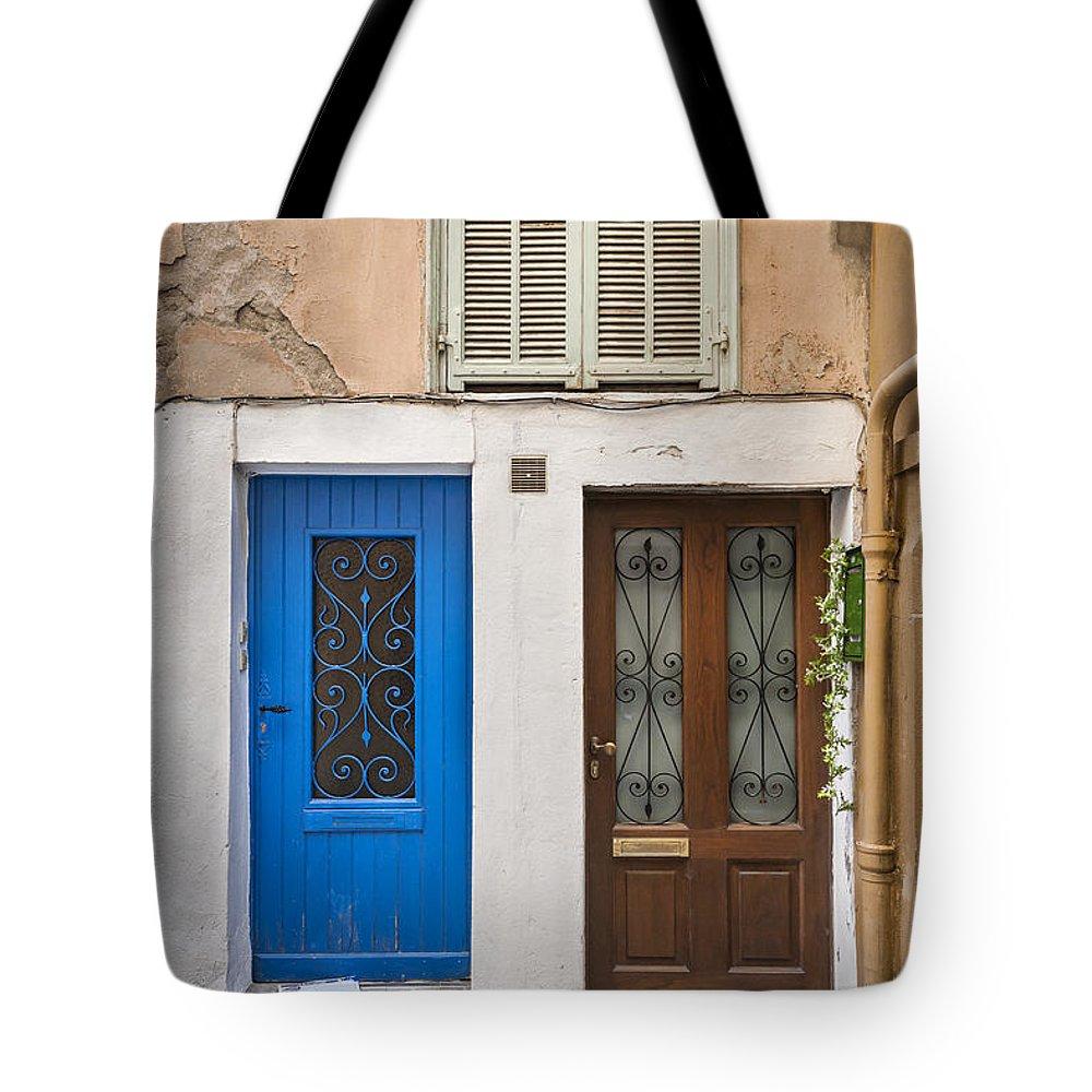 Door Tote Bag featuring the photograph Doors And Window by Elena Elisseeva