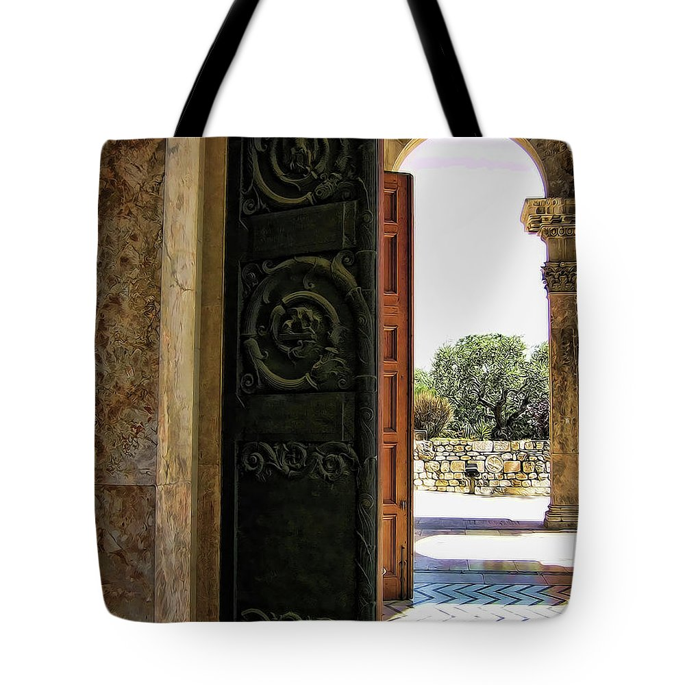 Doors Tote Bag featuring the photograph Doors To All Nations by Douglas Barnard