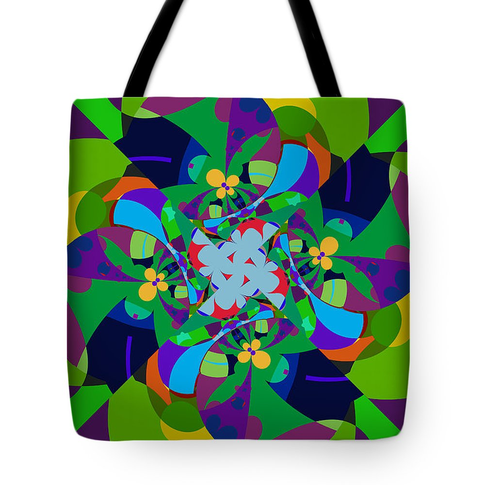 Jim Pavelle Tote Bag featuring the digital art Dosey Doe by Jim Pavelle
