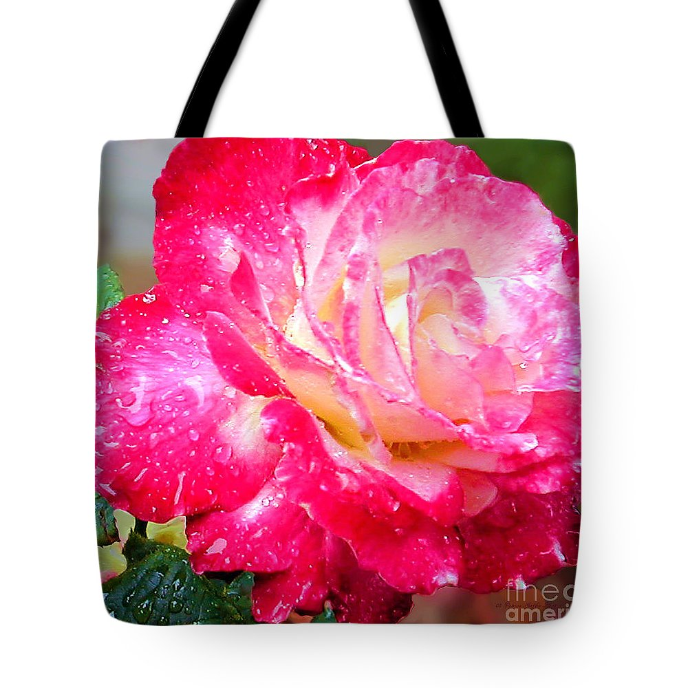 Fine Art Photography Tote Bag featuring the photograph Double Delight by Patricia Griffin Brett