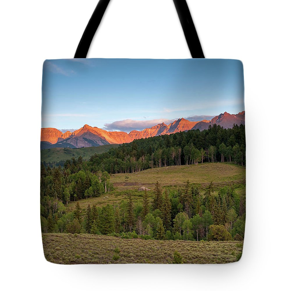 Colorado Tote Bag featuring the photograph Double Rl Ranch by Steve Stuller