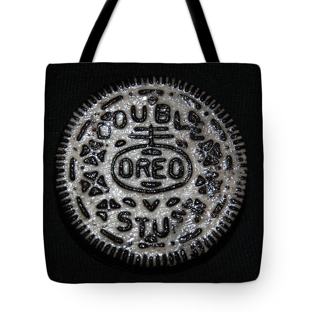 Oreo Tote Bag featuring the photograph Double Stuff Oreo by Rob Hans