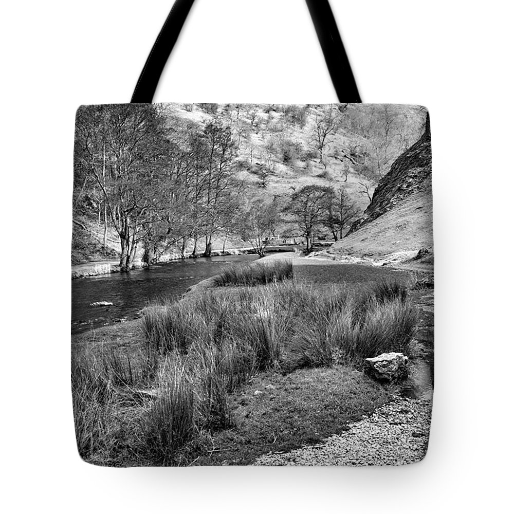 Dale Tote Bag featuring the photograph Dovedale, Peak District Uk by John Edwards